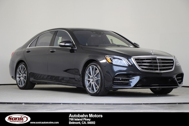 New 2019 Mercedes-Benz S-Class S 560 Sedan in Belmont