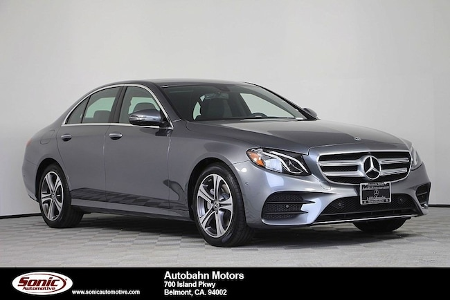New 2019 Mercedes-Benz E-Class E 300 Sedan in Belmont