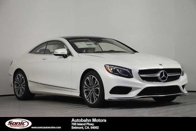 New 2019 Mercedes-Benz S-Class S 560 4MATIC Coupe in Belmont