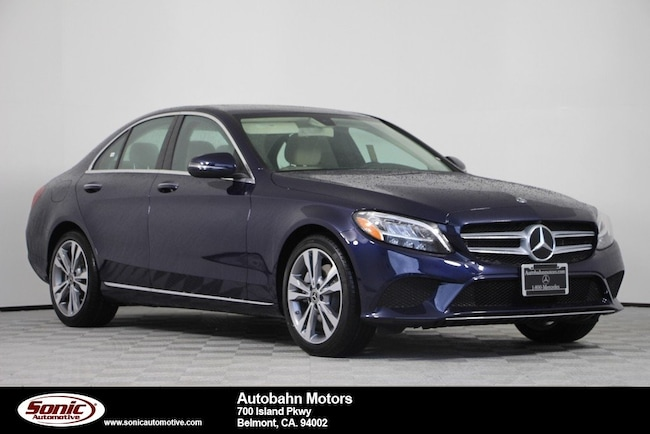 New 2019 Mercedes-Benz C-Class C 300 Sedan in Belmont
