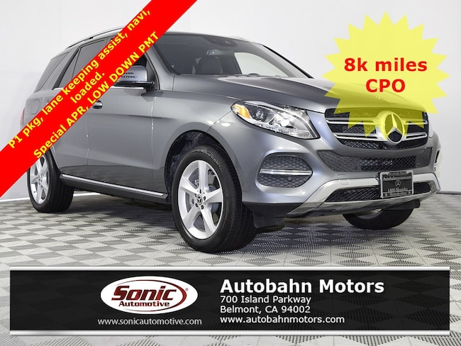 Used 2018 Mercedes-Benz GLE 350 4MATIC SUV in Belmont