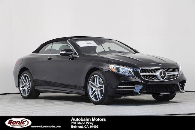 New 2019 Mercedes-Benz S-Class S 560 Cabriolet in Belmont