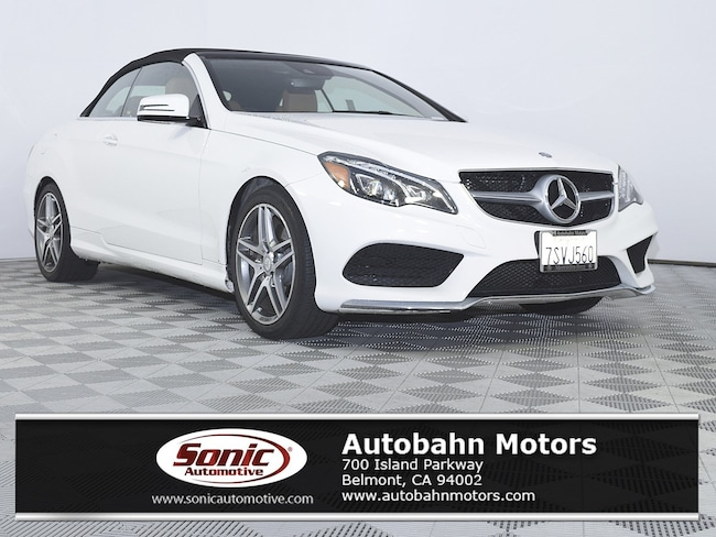 Certified Used 2016 Mercedes-Benz E-Class E 400 Convertible in Belmont