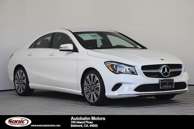 New 2019 Mercedes-Benz CLA 250 Coupe in Belmont