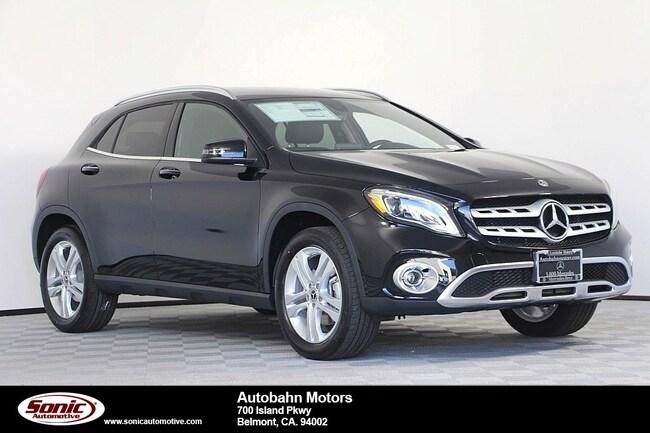 New 2019 Mercedes-Benz GLA 250 SUV in Belmont