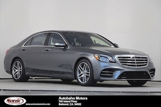 New 2019 Mercedes-Benz S-Class S 560 Sedan for sale in Belmont, CA