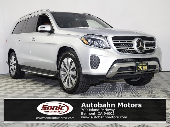 Certified Used 2017 Mercedes-Benz GLS 450 4MATIC SUV in Belmont