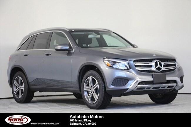 New 2019 Mercedes-Benz GLC 300 4MATIC SUV in Belmont