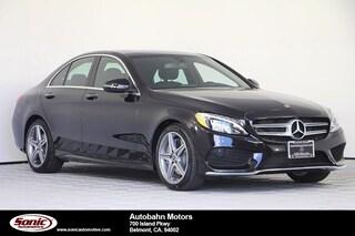 New 2018 Mercedes-Benz C-Class C 300 Sedan for sale in Belmont, CA