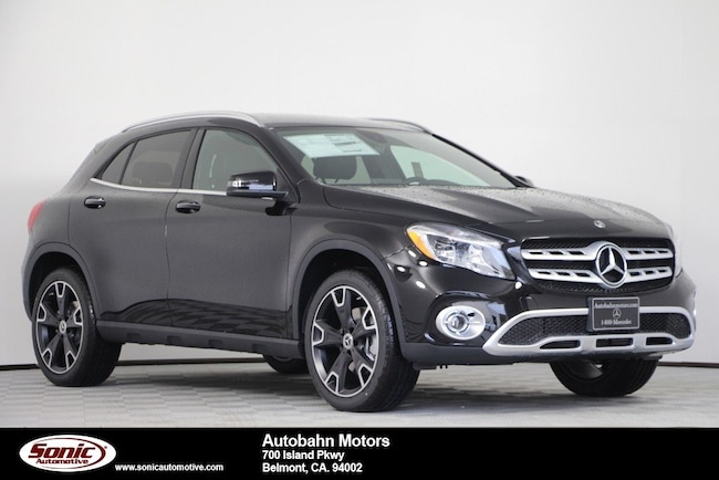 New 2019 Mercedes-Benz GLA 250 4MATIC SUV in Belmont