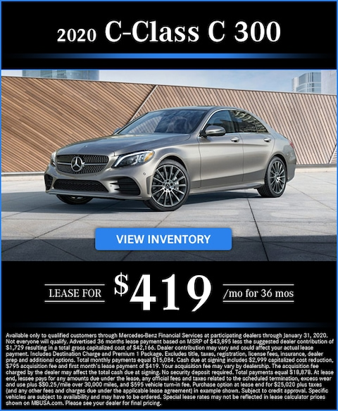 2020 C 300 Lease for $419/mo