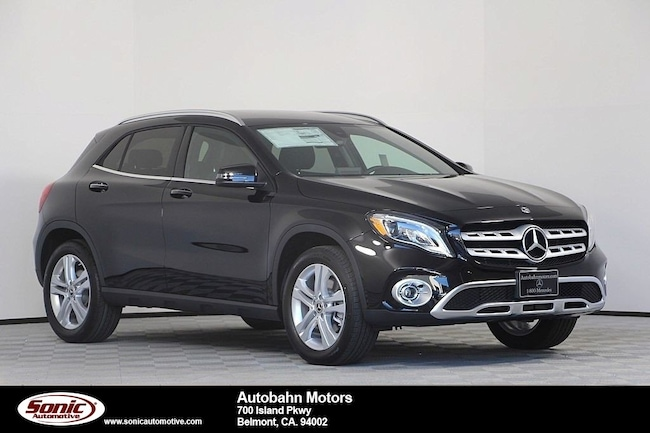 New 2019 Mercedes-Benz GLA 250 4MATIC SUV in Belmont