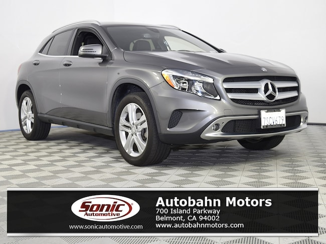 Certified Used 2016 Mercedes-Benz GLA 250 4MATIC SUV in Belmont