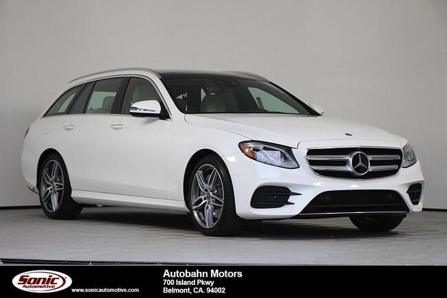 New 2019 Mercedes-Benz E-Class E 450 4MATIC Wagon in Belmont