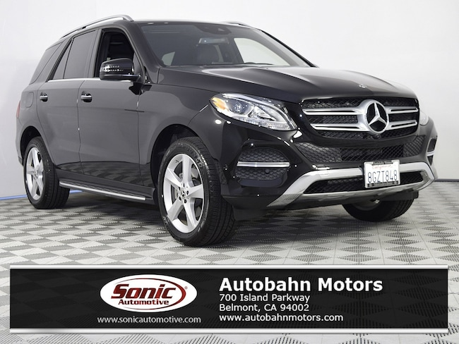 Certified Used 2018 Mercedes-Benz GLE 350 4MATIC SUV in Belmont