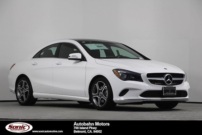New 2019 Mercedes-Benz CLA 250 4MATIC Coupe in Belmont