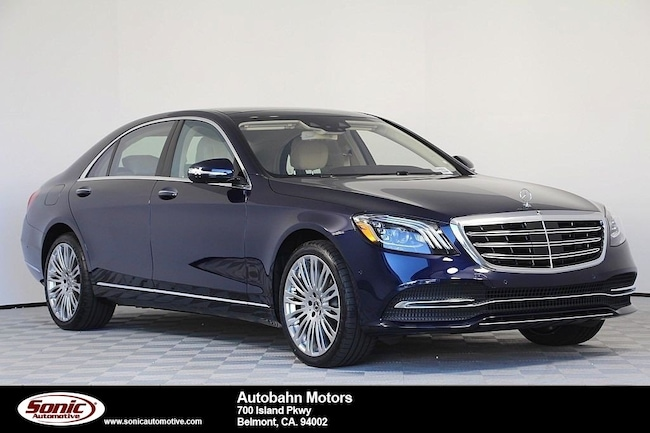 New 2019 Mercedes-Benz S-Class S 450 Sedan in Belmont