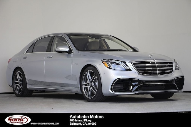 2019 Mercedes-Benz AMG S 63 4MATIC Sedan