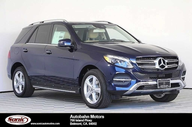 New 2018 Mercedes-Benz GLE 350 4MATIC SUV in Belmont