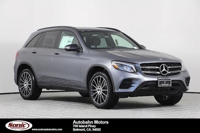 New 2019 Mercedes-Benz GLC 300 SUV in Belmont