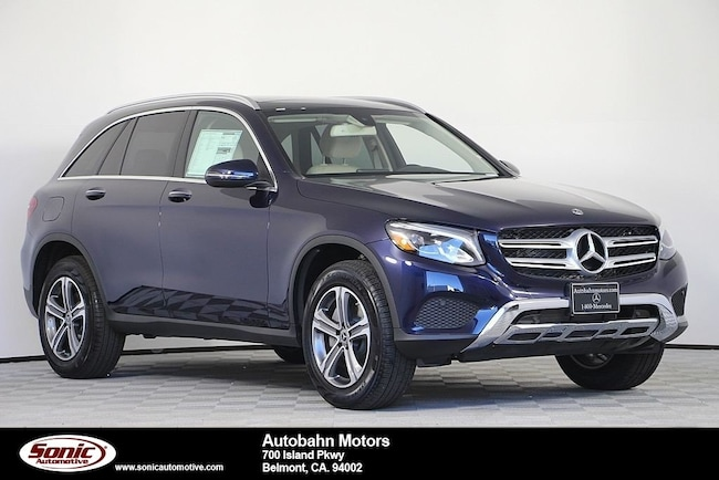 New 2019 Mercedes-Benz GLC 300 4MATIC SUV in Belmont