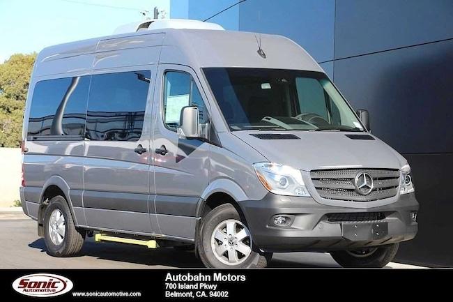 New 2018 Mercedes-Benz Sprinter 2500 Standard Roof V6 Van in Belmont