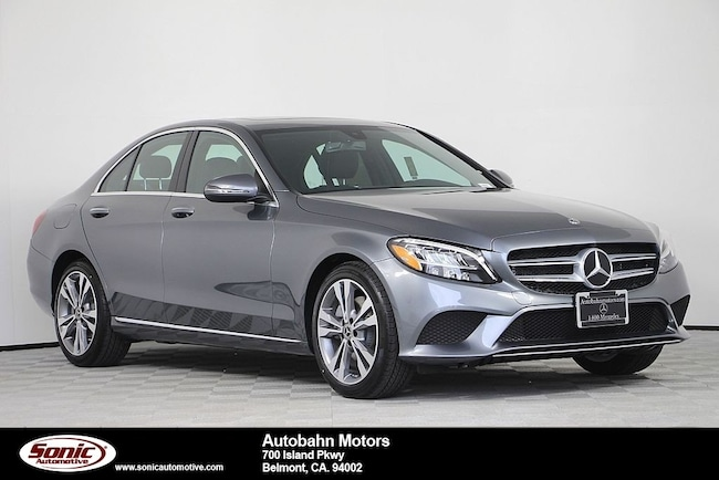 New 2019 Mercedes-Benz C-Class C 300 Sedan in Belmont