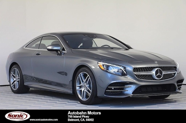 new 2018 mercedes benz s class for sale in belmont ca stock ja032853
