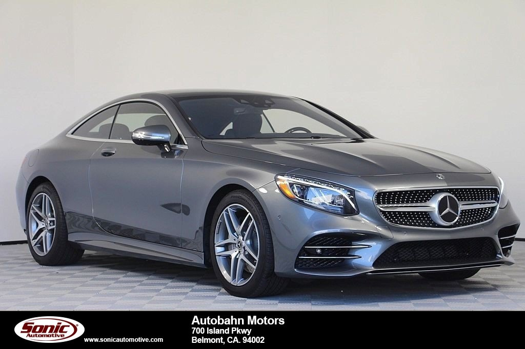 New 2018 Mercedes Benz S Class Coupe In Belmont