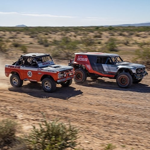 2021 Ford Bronco Racing
