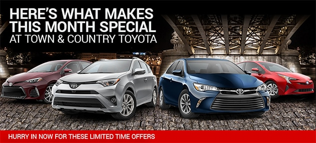this month 39 s special offers at town country toyota charlotee nc town and country toyota. Black Bedroom Furniture Sets. Home Design Ideas