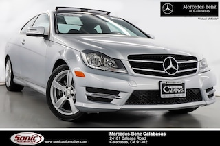 Certified Pre-Owned 2015 Mercedes-Benz C-Class C 250 Coupe serving Los Angeles, in Calabasas