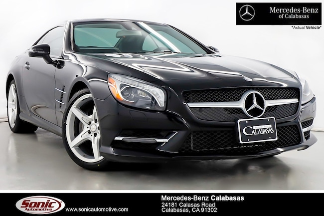 Certified Pre-Owned 2016 Mercedes-Benz SL-Class SL 400 Roadster serving Los Angeles, in Calabasas