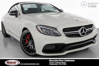 New 2018 Mercedes-Benz AMG C 63 S Convertible for sale in Calabasas