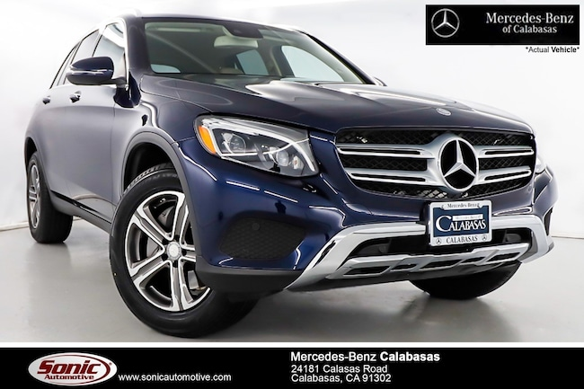 Certified Pre-Owned 2016 Mercedes-Benz GLC 300 SUV serving Los Angeles, in Calabasas
