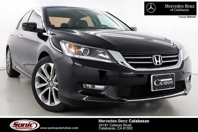 Used 2015 Honda Accord Sport Sedan near Los Angeles, CA