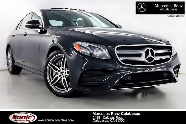 New 2019 Mercedes-Benz E-Class E 450 4MATIC Sedan serving Los Angeles, in Calabasas