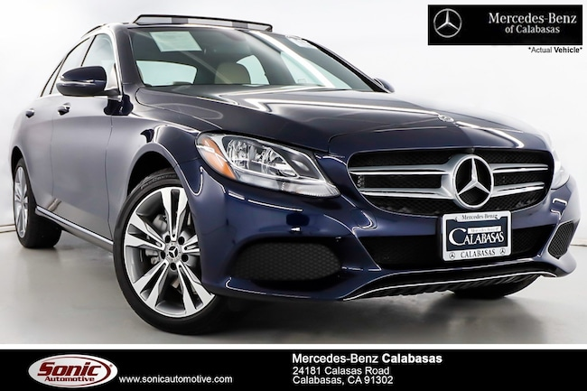 Certified Pre-Owned 2018 Mercedes-Benz C-Class C 300 4MATIC Sedan serving Los Angeles, in Calabasas