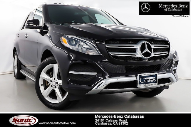 Certified Pre-Owned 2016 Mercedes-Benz GLE 350 SUV serving Los Angeles, in Calabasas