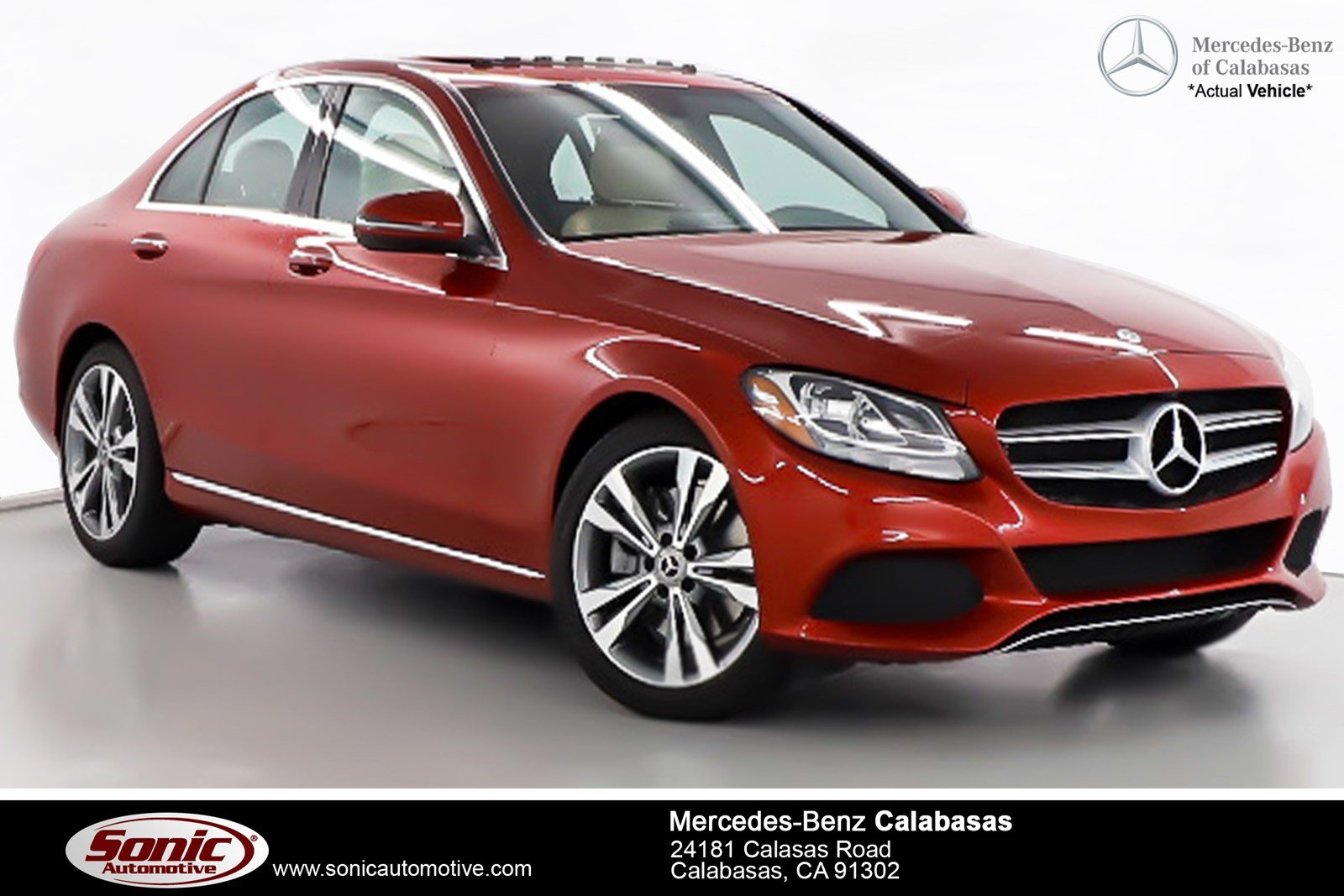 Lovely New 2018 Mercedes Benz C Class C 300 Sedan Serving Los Angeles, In