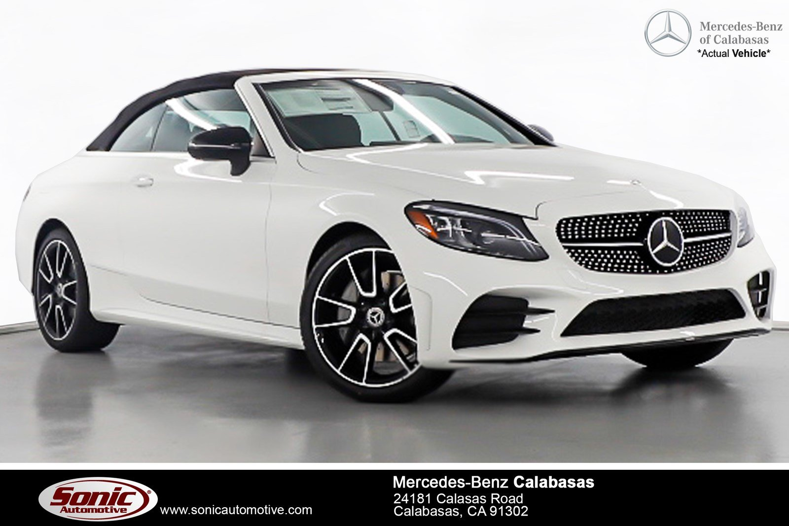 New 2019 Mercedes Benz C Class C 300 Convertible Serving Los Angeles, In