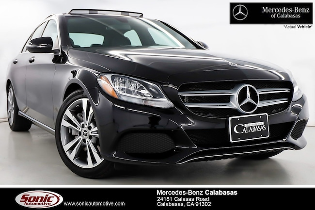 Used 2018 Mercedes-Benz C-Class C 300 Sedan near Los Angeles, CA