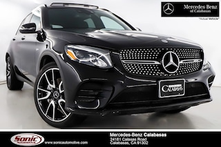 Certified Pre-Owned 2017 Mercedes-Benz AMG GLC 43 4MATIC SUV serving Los Angeles, in Calabasas