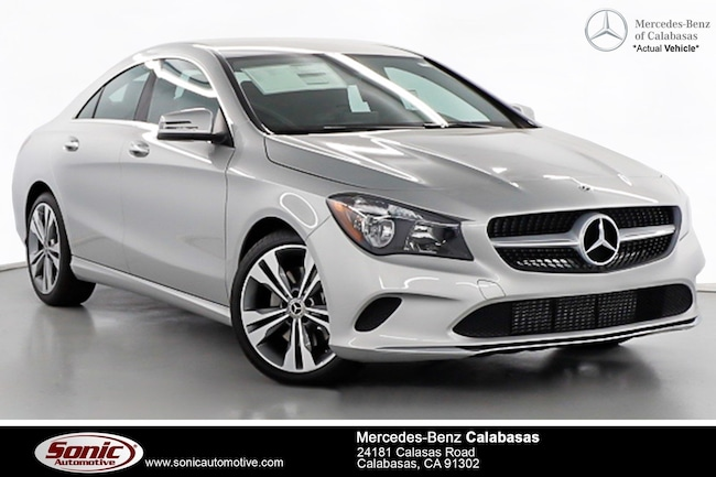 New 2019 Mercedes-Benz CLA 250 Coupe serving Los Angeles, in Calabasas