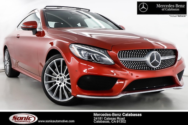 Used 2018 Mercedes-Benz C-Class C 300 4MATIC Coupe near Los Angeles, CA