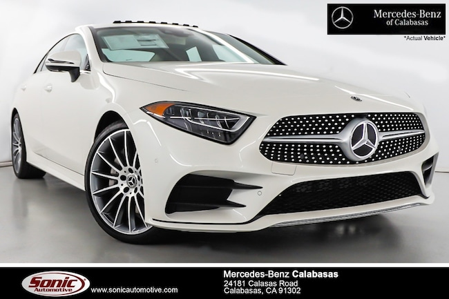 New 2019 Mercedes-Benz CLS 450 Coupe serving Los Angeles, in Calabasas