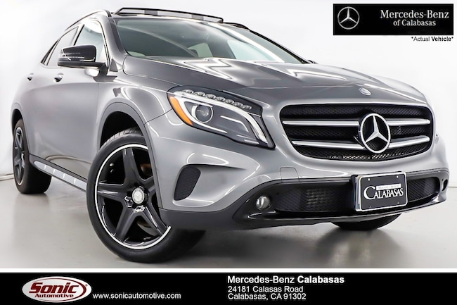 Certified Pre-Owned 2017 Mercedes-Benz GLA 250 SUV serving Los Angeles, in Calabasas