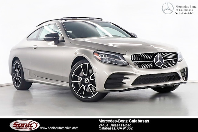 Used 2019 Mercedes-Benz C-Class C 300 4MATIC Coupe near Los Angeles, CA