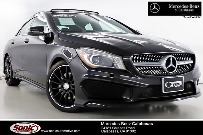 Certified Pre-Owned 2015 Mercedes-Benz CLA 250 Coupe serving Los Angeles, in Calabasas