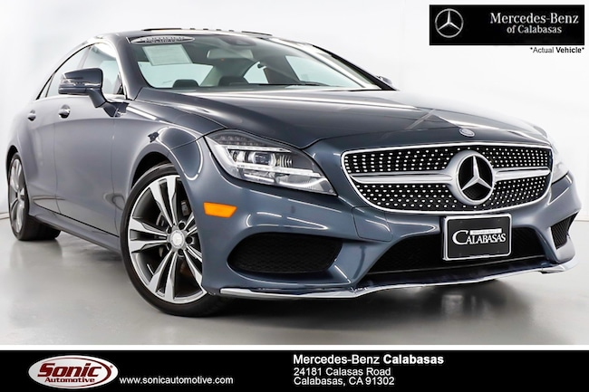 Certified Pre-Owned 2016 Mercedes-Benz CLS 400 Coupe serving Los Angeles, in Calabasas